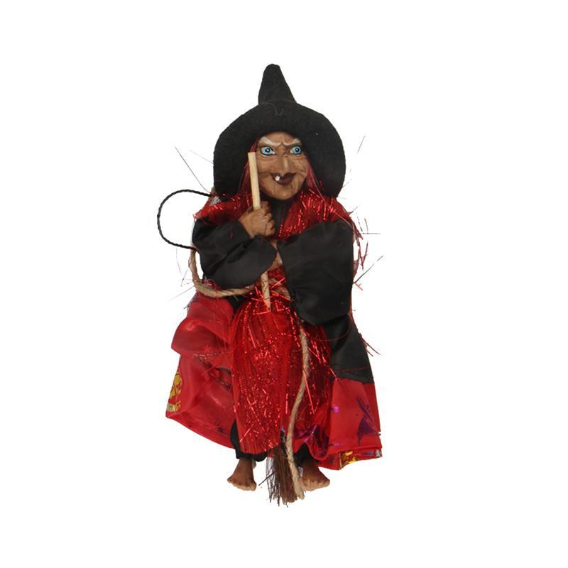 Подвесная Статуэтка ведьмы ужасов, украшение на Хэллоуин, подвесные украшения, вечерние украшения для сада, праздника, газона, патио, Декор, случайный цвет