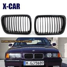 X-CAR bright black / matte black front grille for BMW E36 97-99 318i 320i 325i M3 without error