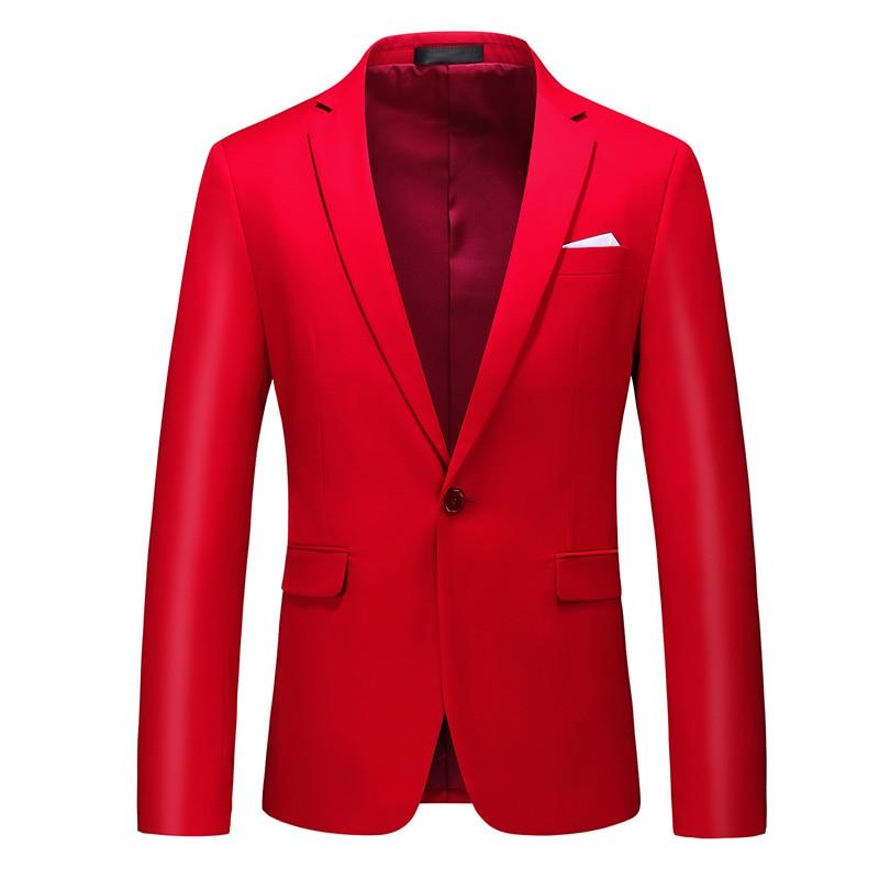 Men Formal Suit Jackets Business Uniform Work Blazer Tops Solid Regular Slim Fit White Wedding Suit for Men Dress Jacket