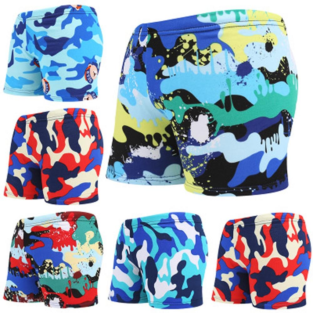Boys Cartoon Beach Swimwear Shorts Child Swimming Trunks Swimsuit Summer Swim Wear Printed Toddler For ages 3 to 8 Boys Kid