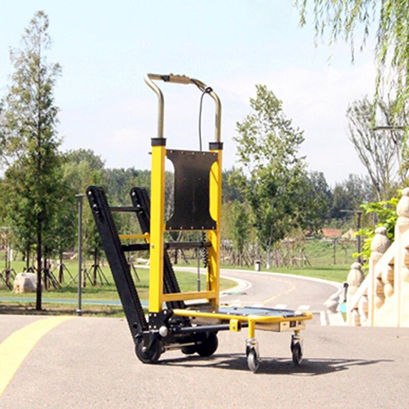 1 قطعة خزان نوع للطي درج متسلق سبائك الألومنيوم إطار الزاحف الكهربائية درج متسلق لتحميل وتفريغ أدوات 220V