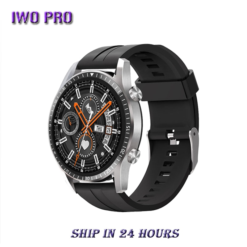 Review IWO PRO GT2 Smart Watch 2021 for Men Bluetooth Call Message Alerts Heart Rate Health Monitoring Andorid IOS PK L13