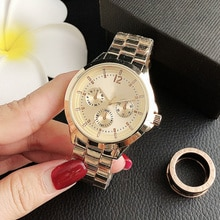 Top Brand Luxury Women Watch Stainless Steel Quartz Wristwatch Waterproof Fashion Ladies Dress Watch
