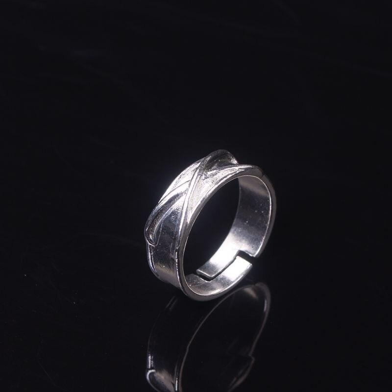 Pojedynczy szlachetny mężczyzna pierścień ze stali nierdzewnej kreatywne popularne pierścienie dla kobiet mężczyzn pamiątka prezent biżuteria Dropshipping