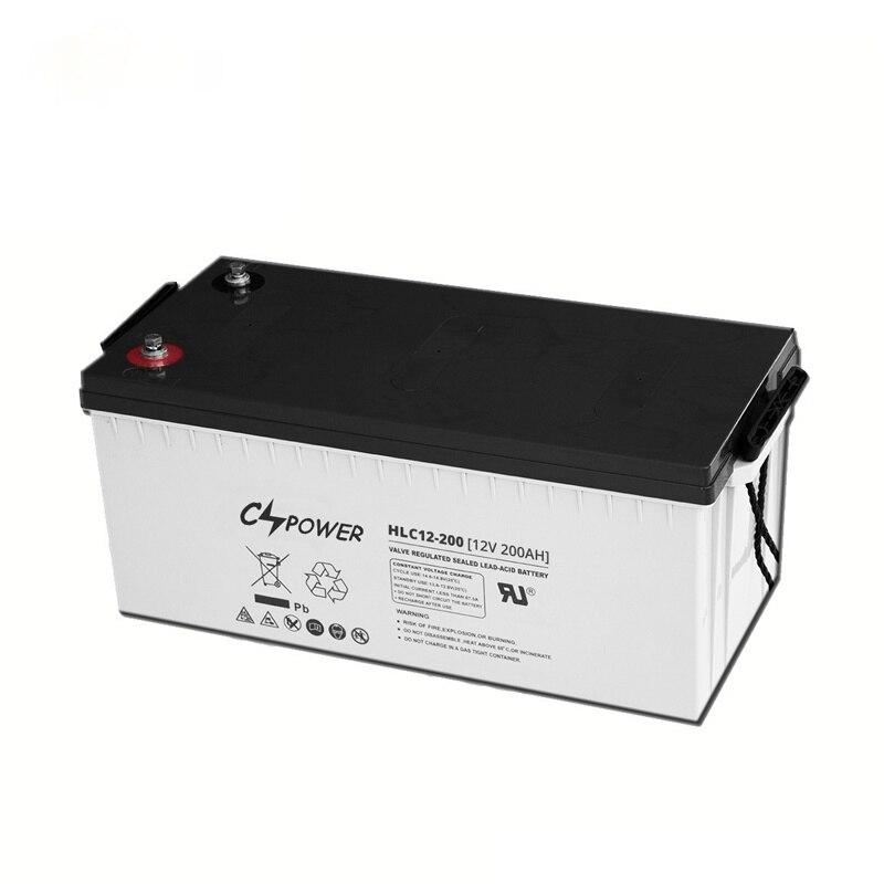 CSPOWER الرصاص الكربون بطارية ذاتية الشحن الطاقة الشمسية بطاريات للتخزين 6 فولت 380Ah