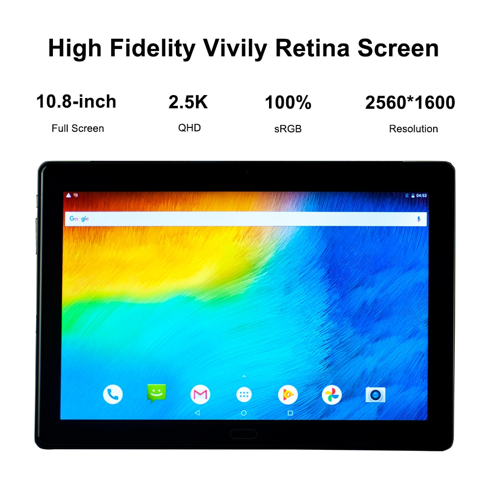 8GB RAM 256GB ROM MTK6797 Helio X23 Deca Cores Tablet PC 10.8