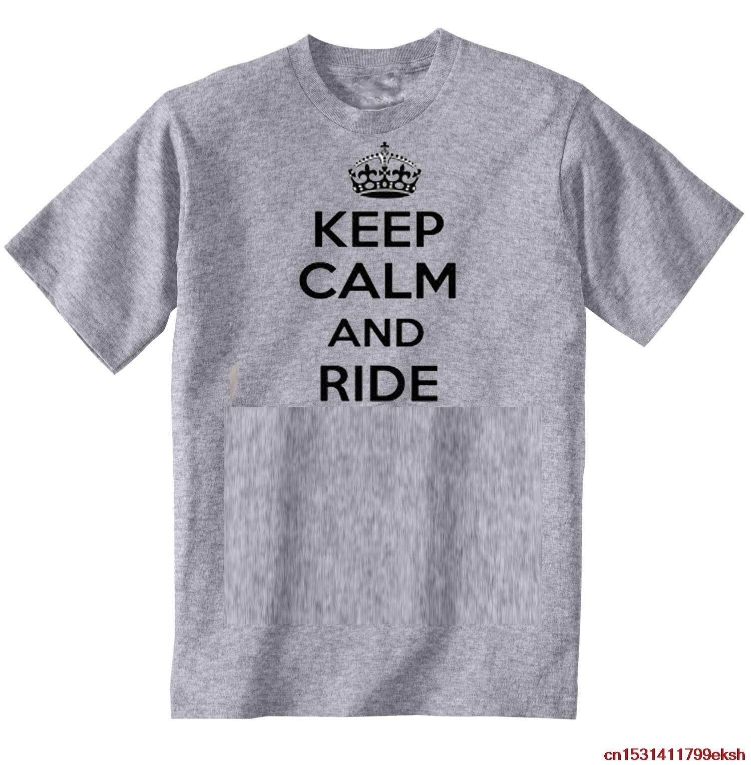 MOTO GUZZI CAFE RACER KEEP CALM-Nueva camiseta gris gráfica increíble S-M-L-XL-XXL