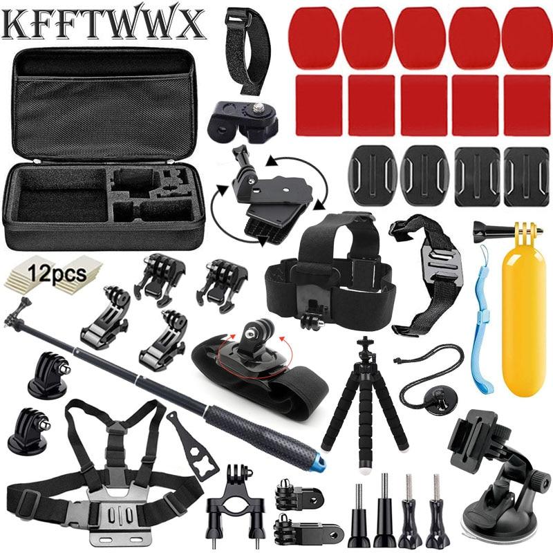 KFFTWWX-Kit de accesorios para Cámara de Acción Gopro Hero 9, 8, 7,...