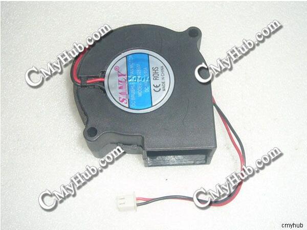 Nuevo para SANLY SF6028SL R SF6028SM DC24V 24V 6028 60mm 6CM 60x60x28mm 2Pin 2 ventilador de refrigeración del turboventilador
