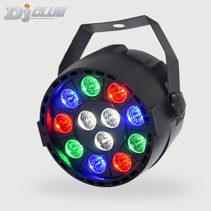 Disco Dj Led Par 12X3W Rgbw With Dmx512 For Club Sound Activated Ball