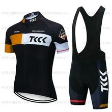 TKCK cycling jersey set BMX bicycle roupa de ciclismo masculino cycling bib shorts jersey kit bike w