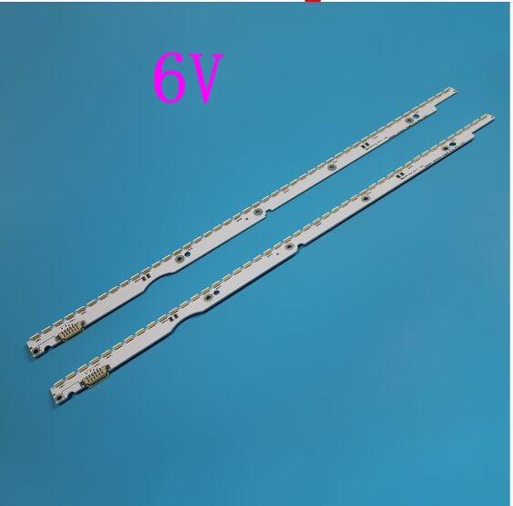 6V 32 بوصة LED الخلفية قطاع ل سامسونج التلفزيون 2012SVS32 7032NNB 2D V1GE-320SM0-R1 32NNB-7032LED-MCPCB UA32ES5500 44 المصابيح 406 مللي متر