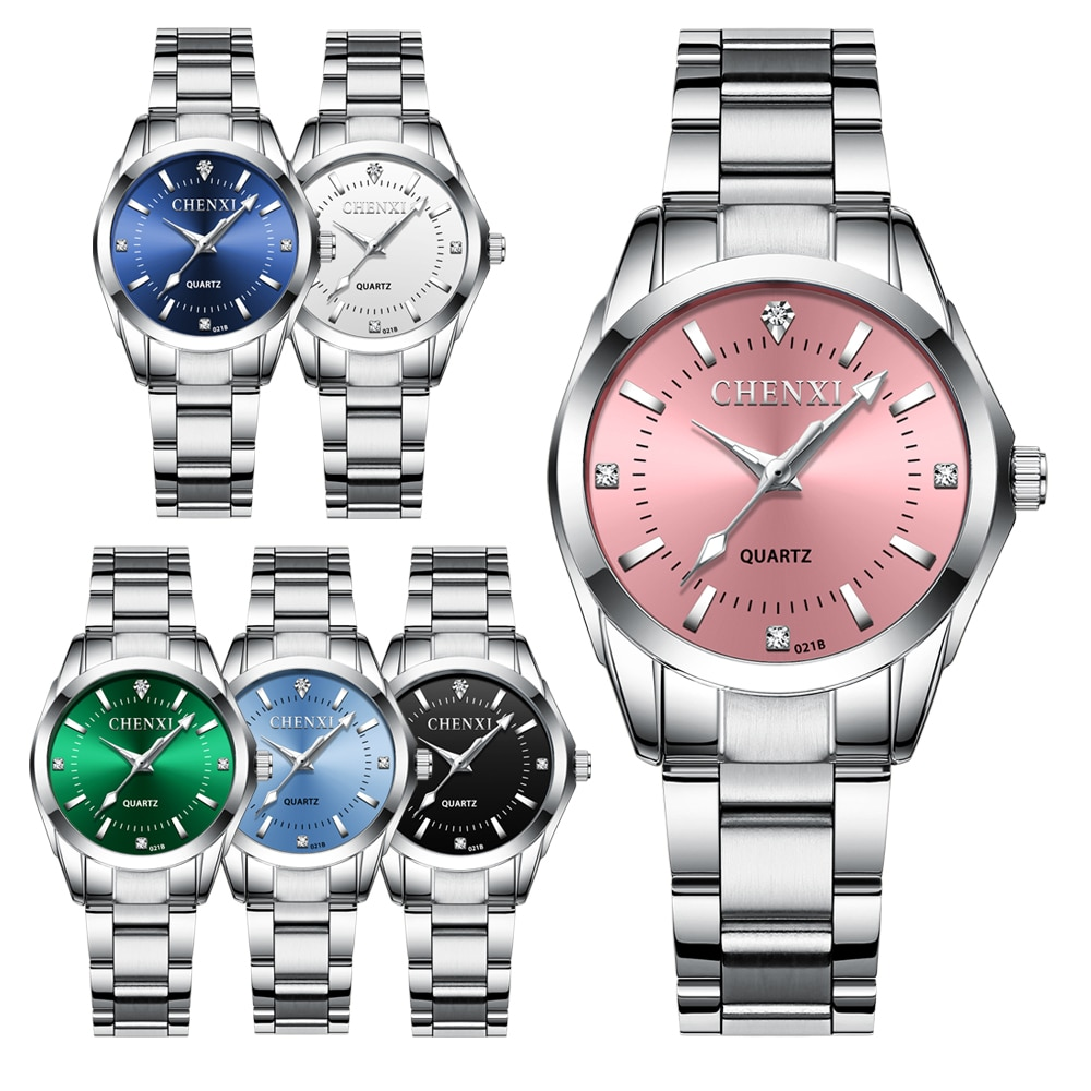 CHENXI Lady Rhinestone Fashion Watch Women Quartz Watch Women's Wrist watches Female Dress Clock xfcs relogio feminino enlarge