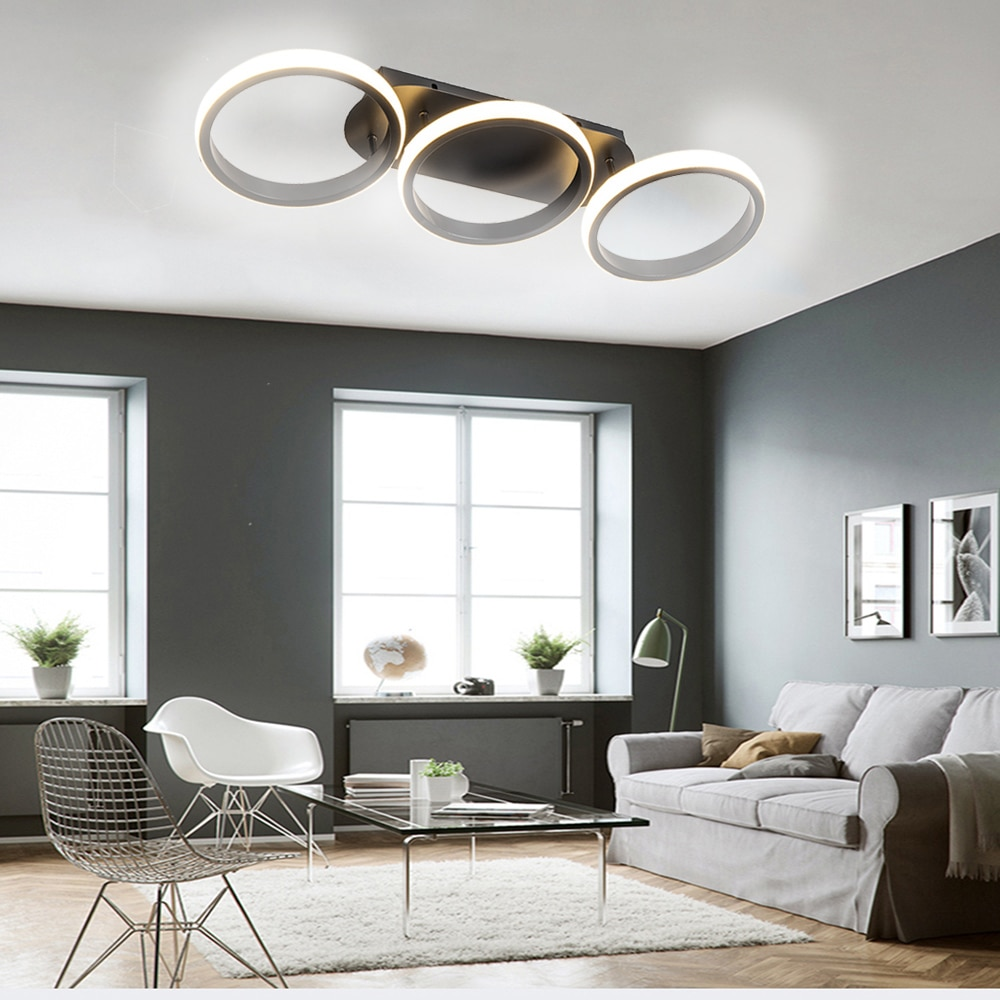 Modern LED Ceiling Lights for Living Room Kitchen Bedroom Apartment Bar Corridor Indoor Ceiling lamp Home Lighting  AC90-260V