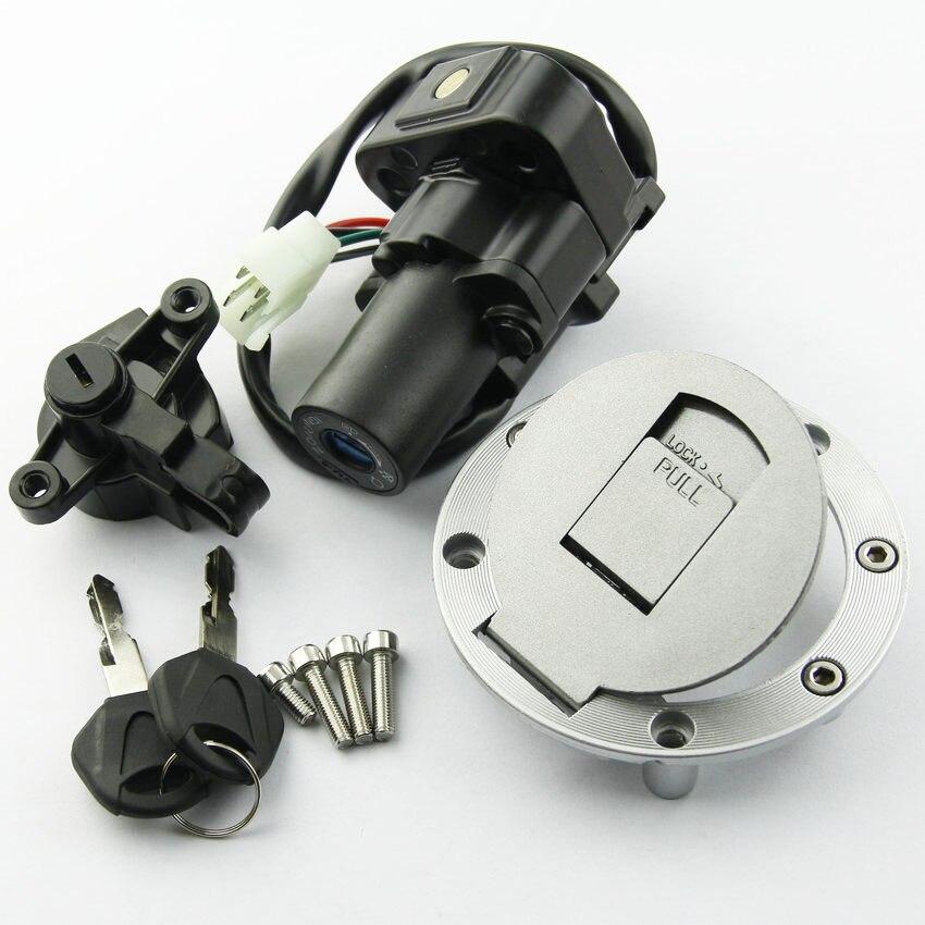 Kit de interruptor de encendido para motocicleta, tapa de depósito de gasolina con 2 llaves para Yamaha XJR400 XJR1200 XJR1300 Accesorios de Motor