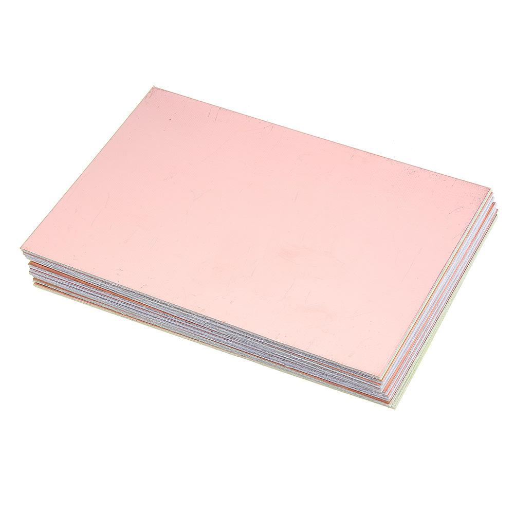 5pcs/lot 10x15 FR4 Fiberglass Board 10*15cm PCB Single Side Prototype Board diy Laminate Printed Circuit Board Electronic Plate