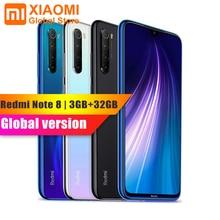 Version mondiale Xiaomi Note 8 3GB RAM 32GB ROM téléphone portable Note8 Snapdragon 665 charge rapide 4000mAh batterie 48MP SmartPhone