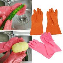 Gants créatifs de nettoyage de pommes de terre   2 pièces/paire de pommes de terre pelées Fruits de cuisine, frottage de la peau, grattage échelle de poisson, gant ménager antidérapant