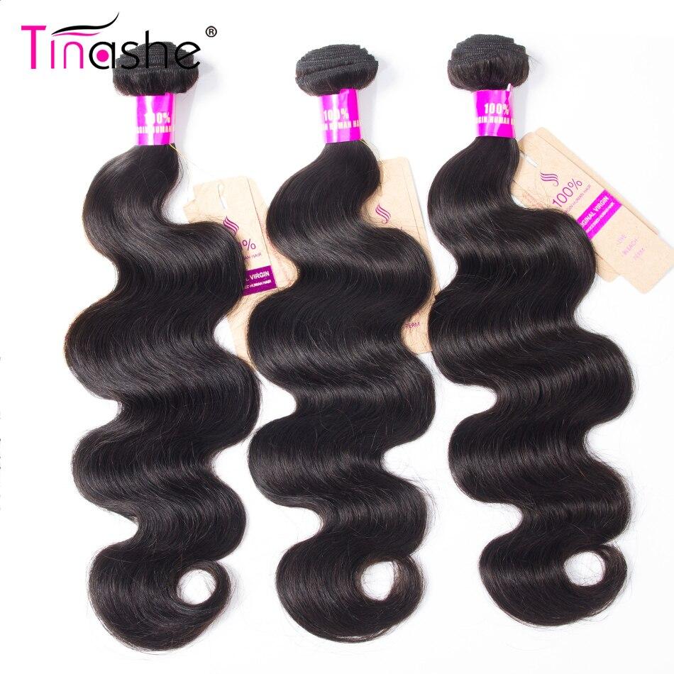 Tinashe Hair Body Wave Bundles Remy Human Hair 1/3/4 Bundles 8-30 inch Natural Color Hair Extension Brazilian Hair Weave Bundles