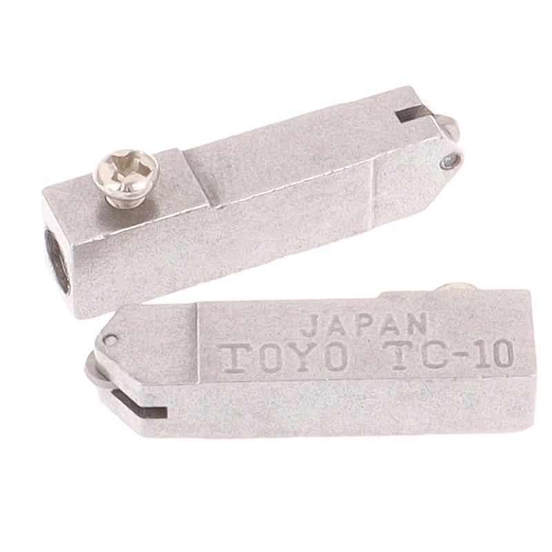 2 pezzi tc-10 strumento per testina di taglio dritto in vetro ad alta - Strumenti di costruzione - Fotografia 2