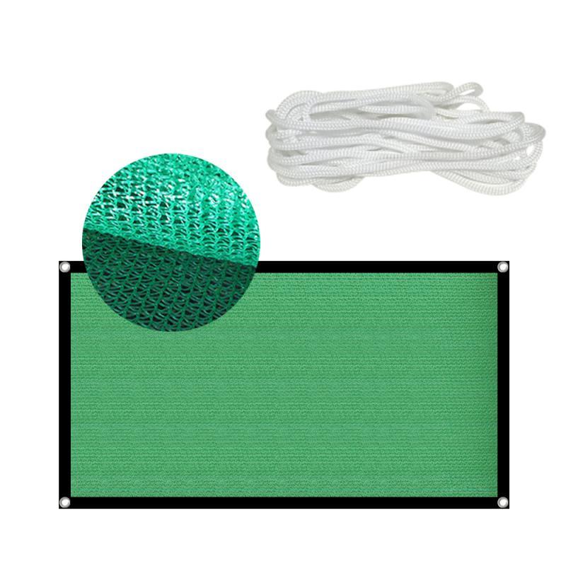 Сетка для защиты от УФ-лучей, зеленая Солнцезащитная сетка, наружная Солнцезащитная сетка, искусственный навес, суккулент, беседка для растений, Балконная сетчатая ткань