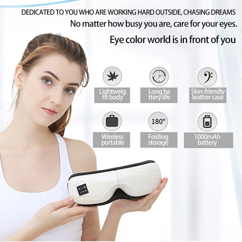 Air pressure eye massager electric folding eye nurse wireless charging eye care eye massage