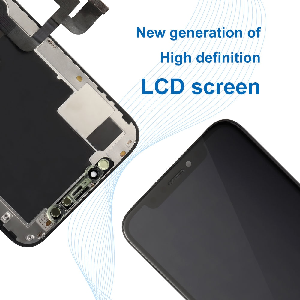 For iPhone X XR XS MAX 11 PRO MAX OLED LCD Touch Screen with 3D Touch TFT Display Digitizer Assembly Replacement Ship From Spain enlarge