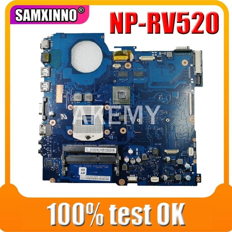 ERILLES عالية الجودة لسامسونج RV520 NP-RV520 اللوحة المحمول BA92-08187A BA92-08187B GT520M 512MB GPU BA41-01610A HM65