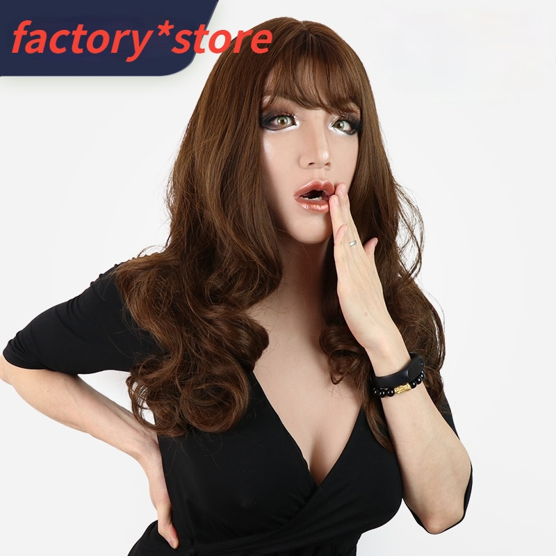 Cosplay Realistic Silicone Fake Breasts Handmade Can Be Dressed As Artificial Women Masquerade Fake Breasts D Cup