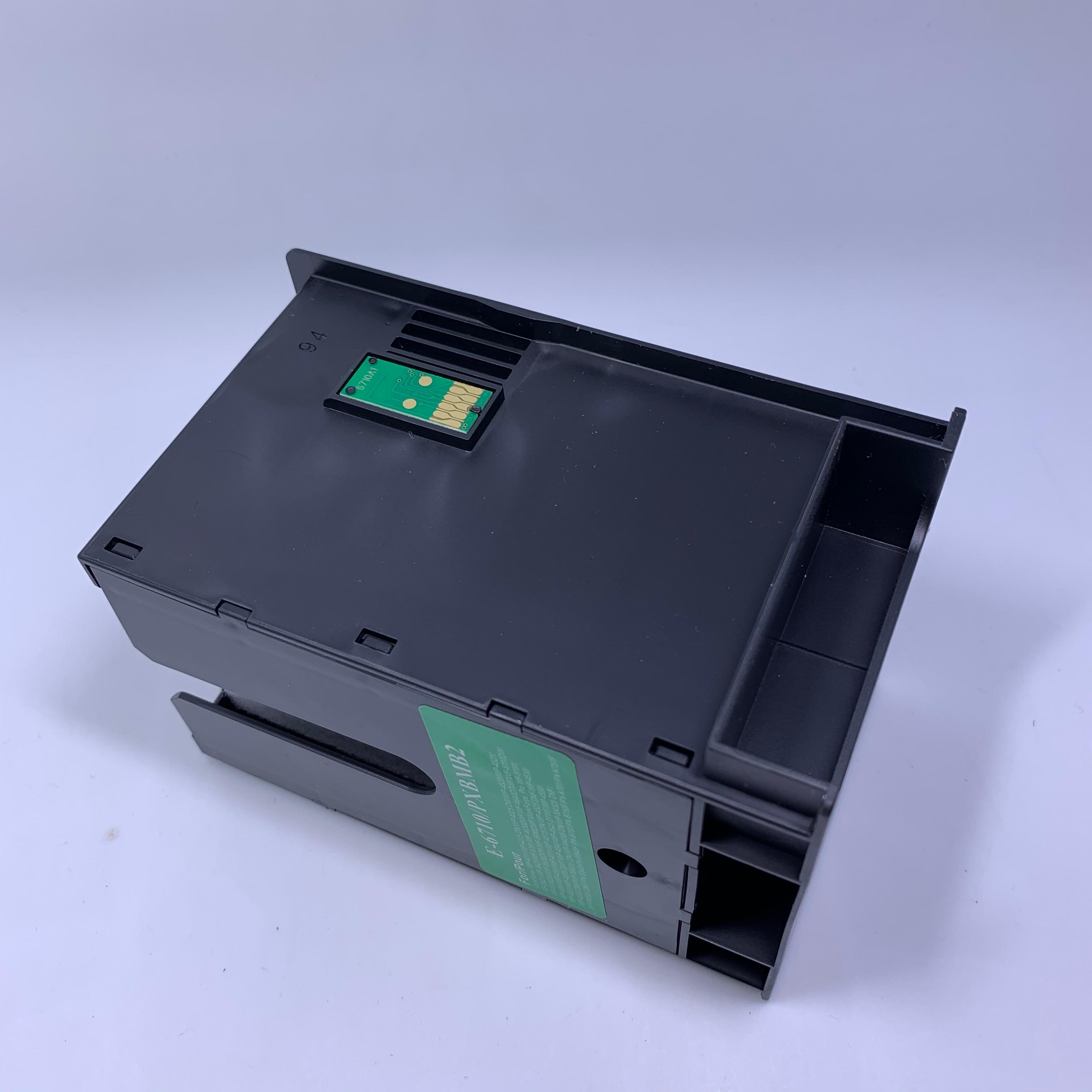 YOTAT Maintenance Tank compatible T6710 / PXBMB2 for Epson WF-5191 WF-5620 WF-5621 WF-5623 WF-5690 Box