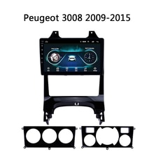 "Auto Radio Für Peugeot 3008 2009-2015 multimedia-system video stereo unterstützung DVD USB FM SWC TV bose WIFI KEINE 2 DIN Android 8,1 9"""