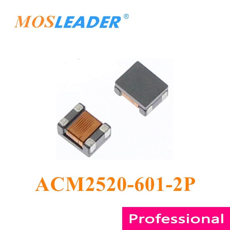 Mosleader 100 قطعة ACM2520-601-2P 2520 600R ACM2520-601 صنع في الصين عالية الجودة لفائف