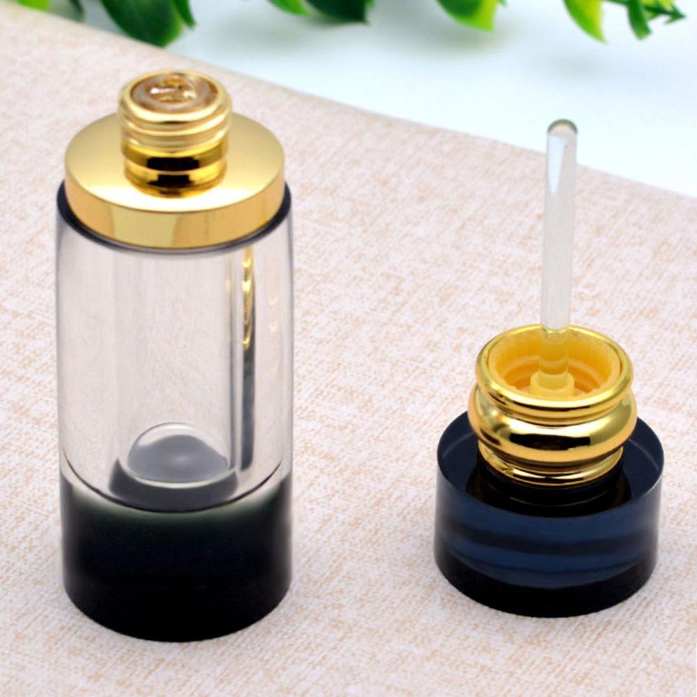 Botella de Perfume vacía de cristal rellenable de 3ml, adorno de botella de aceite esencial