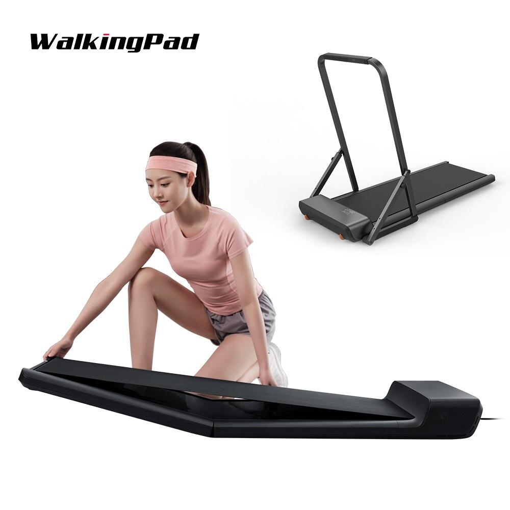 WalkingPad-cinta de correr para caminar, dispositivo plegable de escritorio, silencioso, Control de velocidad