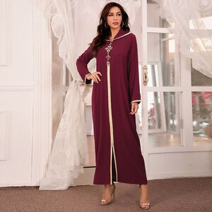2021 Vestidos De Mujer Abaya Dubai Turkey Muslim Fashion Dress Clothing African Long Dresses For Women Robe Noel Djellaba Femme