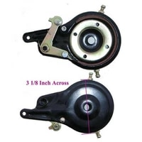 band new brake assembly w 60mm black rotor for mini moto pocket bike shredder universal compatible with scooters bikes