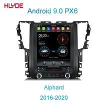 KD-12131 Klyde 자동차 라디오 안드로이드 hexa 코어 자동차 dvd 비디오 플레이어 Alphard 2016-2020 터치 스크린 자동차 자동 멀티미디어