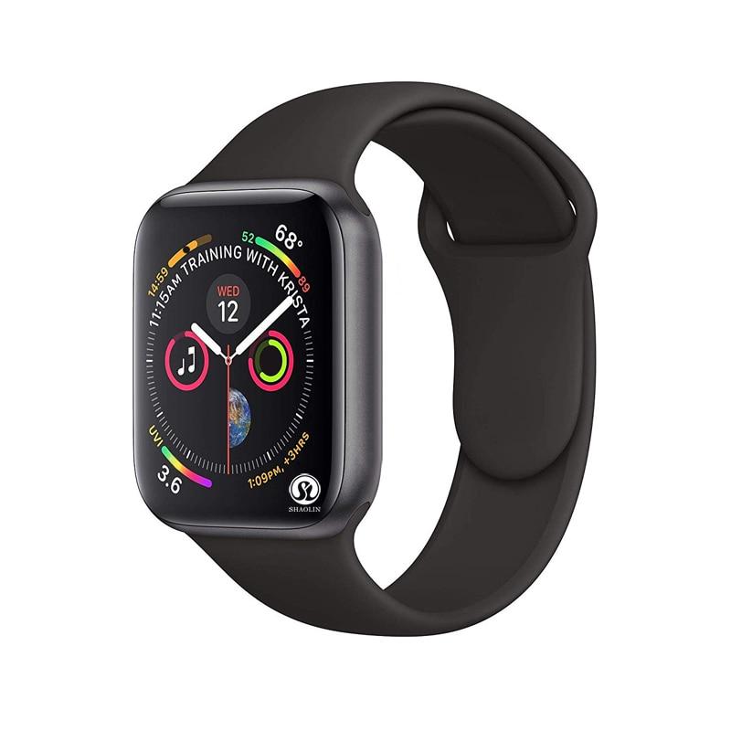 Ssmart Watch Series 4 ، جراب ساعة ذكية 42 مللي متر لهاتف Apple iphone 6 7 8 X وهاتف Android ، جديد