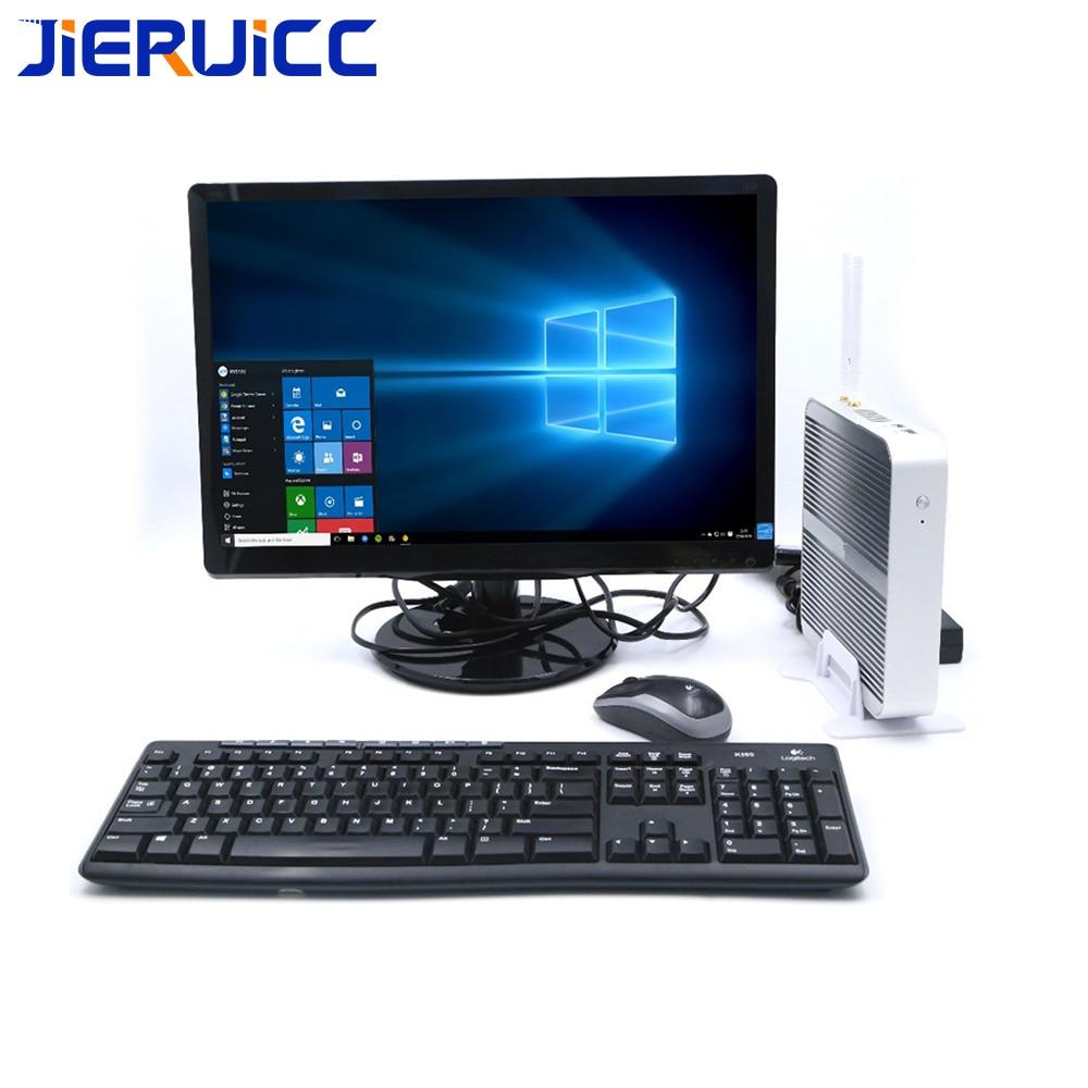 Mini ordenador sin ventilador Windows10 Intel Nuc Core Mini ordenador I5 4200u i3 4005u i55200u i7 4500u ranura de doble ram