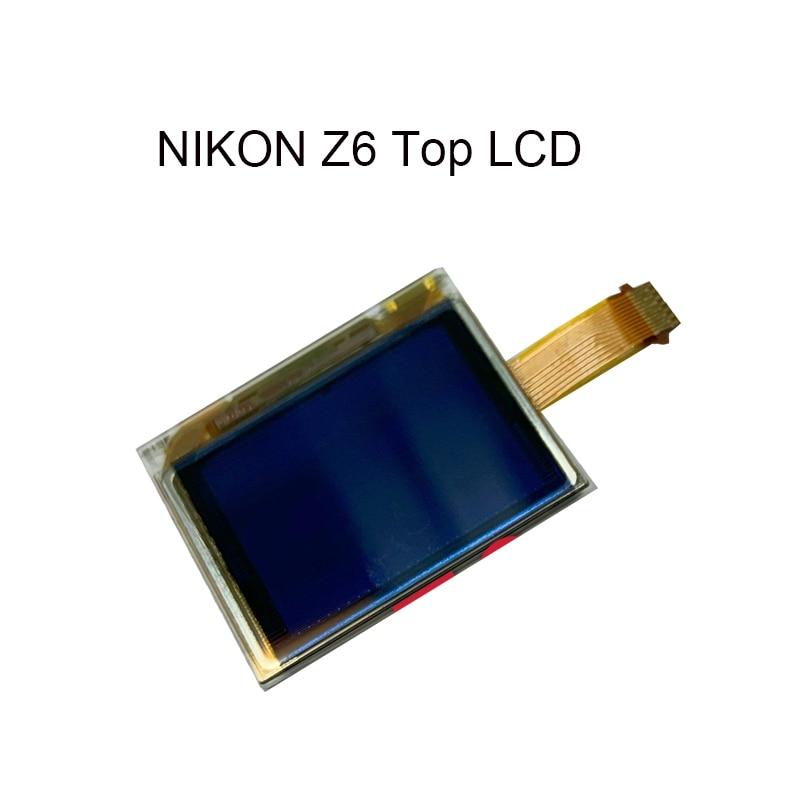 العلامة التجارية الجديدة لنيكون Z6 LCD العلوي مع أجزاء إصلاح الكاميرا