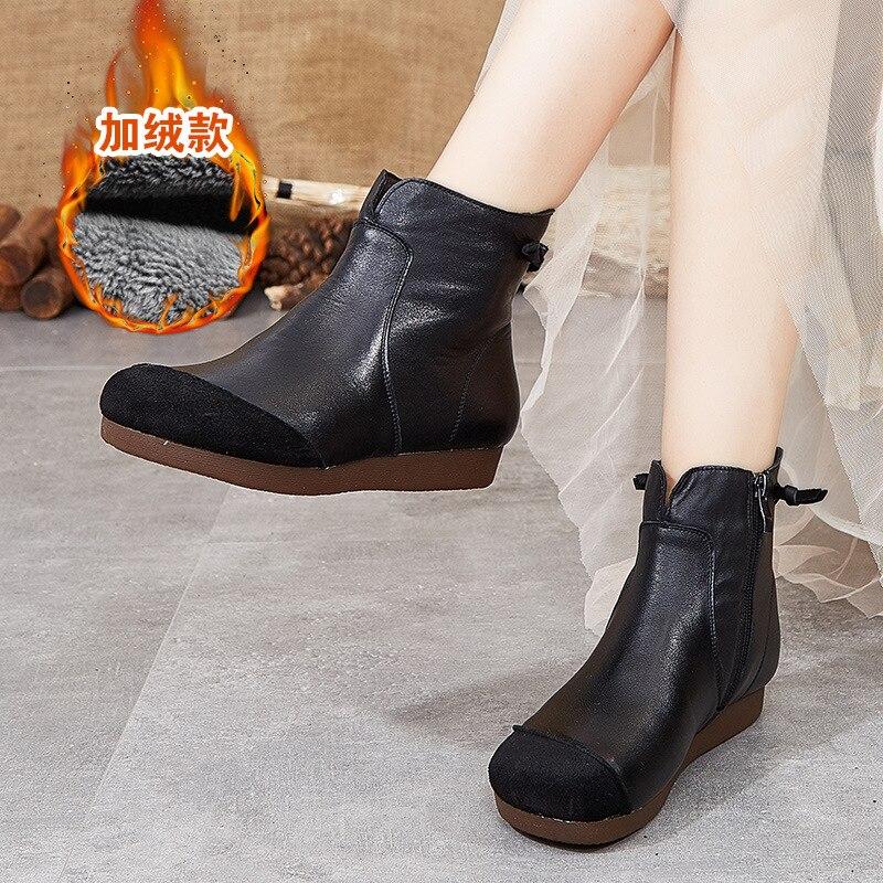 موضة أحذية النساء المطاط حذاء كاجوال كبير تنفس العلامة التجارية الأحذية الجلدية امرأة كبيرة الاحذية
