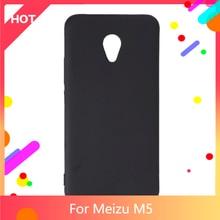 M5 Case Matte Soft Silicone TPU Back Cover For Meizu M5 Phone Case Slim shockproof
