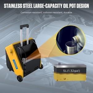 Image 2 - AUTOOL AST618 12V автомобильный пульсирующий тормозной масляный обменник, пульс, замена масла, восстановление тормозной жидкости для автомобиля, четыре рабочих цилиндра сцепления