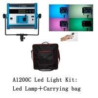 video light studio 96w yidoblo a 1200c rgb 9990k rgb studio led light video panel light lamp flim lighting