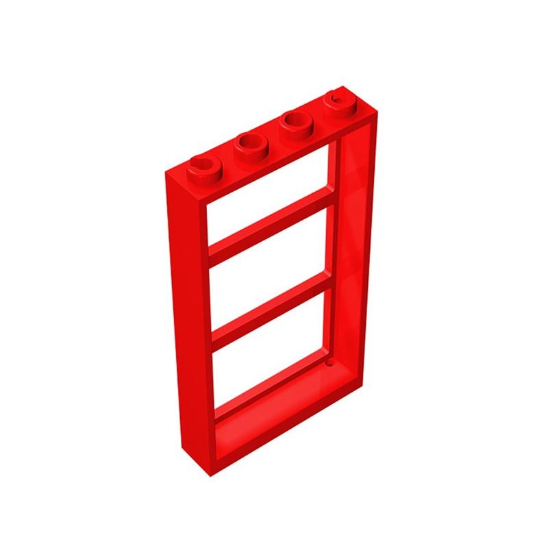 Building Block Toy diy moc Assemble Parts 1x4x6 Bricks Parts Educational Creative Gift Children Toys 10pcs/lot free shipping