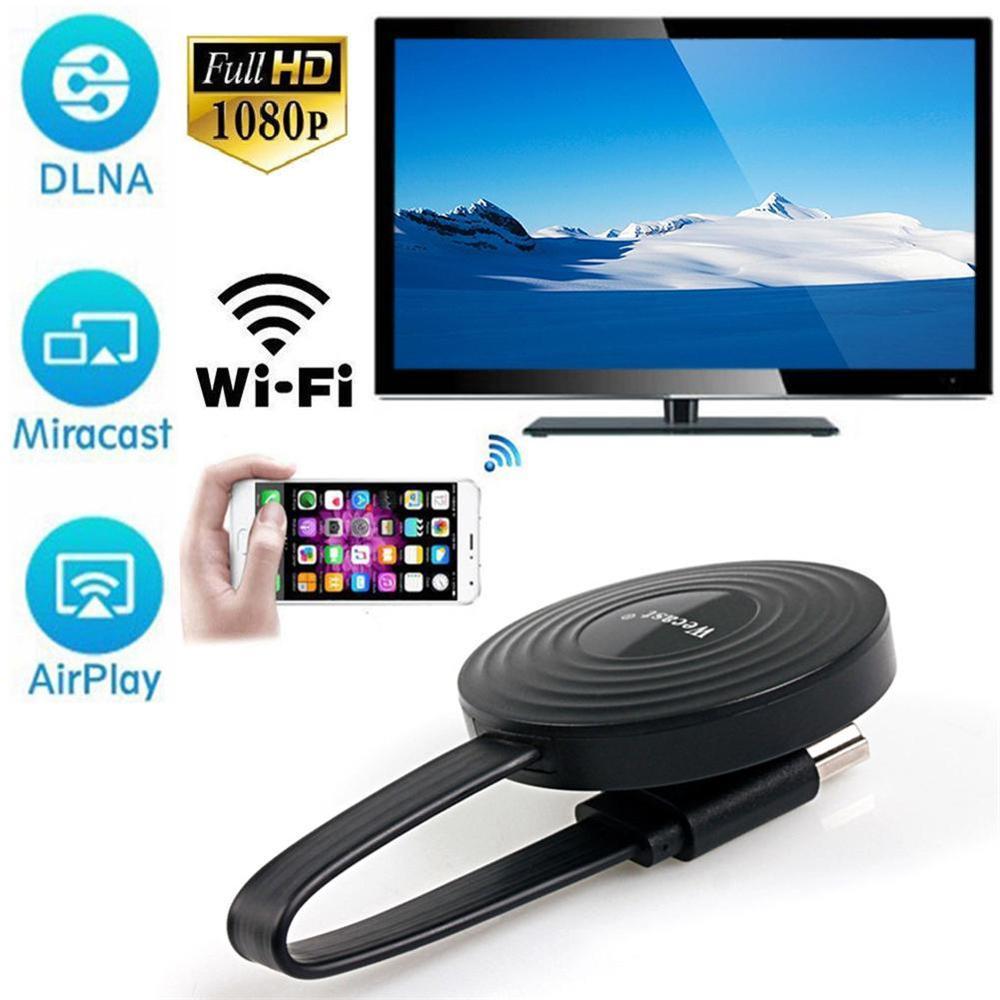 Miracast/Airplay /Chromecast беспроводной HDMI Android IOS ТВ-приёмник Wifi ключ зеркальный экран стример DLNA