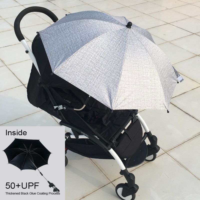 Universal 95% Baby Stroller Accessories UV Protection Umbrella 360 Degrees Adjustable Sunshade Sun Visor Canopy Cover