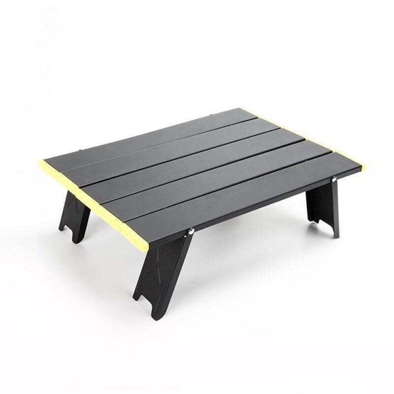 Mesa plegable pequeña para exteriores, tienda de campaña para barbacoa, cama para...