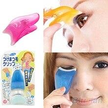 Pince à épiler faux cils applicateur de faux cils Extension de cils bigoudi outil de maquillage faux cils oeil cils applicateur pince