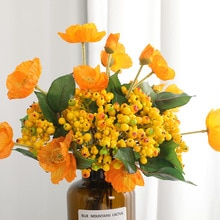 30cm Rose Rose soie Bouquet pivoine fleurs artificielles grandes têtes 4 petit bourgeon mariée mariage décoration de la maison Faux fleurs Faux